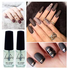 1pcs DIY Nail Art Decorations Matte Top Coat 6ml Nail Polish Transparent Clearly Matte Top Coat Nail Polish