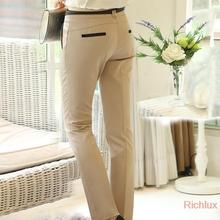uality Women's Pants Plus Size Casual Long Trousers for Office Ladies business Work Khaki Color Harem Pants Suit Trousers