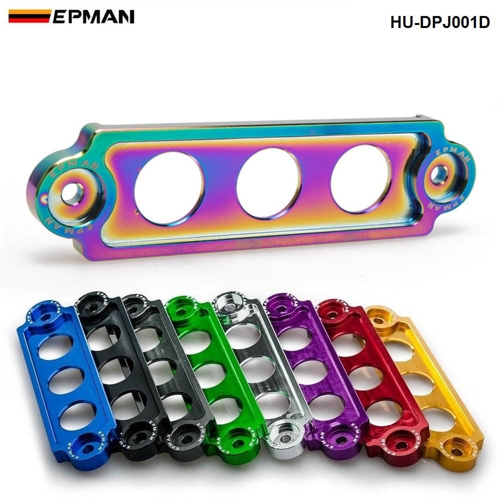 Purple Battery Tie Down Bracket Aluminum for Civic Integra S2000 EG//EK//DC//AP