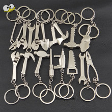 Funny Auto Car Keychain Metal Tool Spanner Shape Key Rings Key Holder For Audi Buick Chevrolet Chrysler BMW Benz Volkswagen Opel(China)