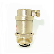 "1"" BSP Male Brass Automatic Air Vent Valve For Solar Water Heater Pressure Relief Valves(China)"
