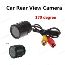 best selling Universal 170 degree view angle Waterproof CCD Car Front / Rear View Backup Camera with 8 LED(China)