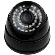 Free Shipping to Brazil Cheap 1/3 CMOS 1200TVL Dome CCTV Camera surveillance system with Plastic casing