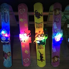 1PCS Kids LED Toys Watch Children Watches Toys LED Flashing Wrist Bands Magic Lights Toys Flashing Christmas Gift Toys FG08