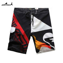 Men's Beach Shorts Swimming Boardshorts Swimsuit Surf Pants Boys Swimming short de bain homme Summer Swimwear Quick Dry Pants