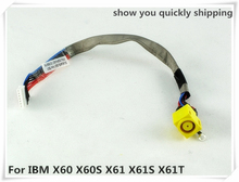 NEW LAPTOP DC POWER JACK WITH CABLE FOR LENOVO IBM X60 X60S X61 X61S