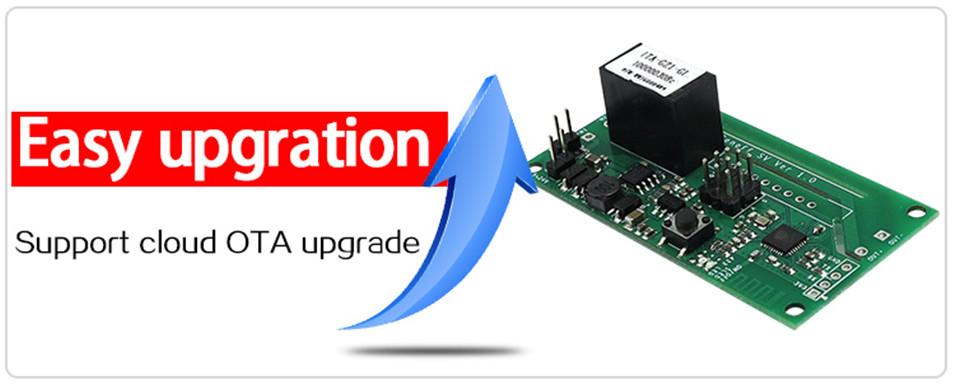 Sonoff SV Safe Voltage WiFi Wireless ONOFF Switch Smart Home DIY Module 5-24V Control AC DC Power work with Alexa Nest Ewelink-3