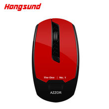 Hongsund Rechargeable Wireless Mouse Slient Mute Mice 2400 DPI 2.4G FPS Gamer Silence Build-in Lithium Battery High Performance