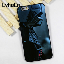 LvheCn phone case cover fit for iPhone 4 4s 5 5s 5c SE 6 6s 7 8 plus X ipod touch 4 5 6 Darth Vader Dark Side Sith Star Wars(China)