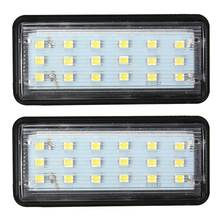 2x LED SMD3528 License Plate Light Number Plate Lamp For Toyota/Land/Cruiser/Lexus/GX/LX470 Error Free