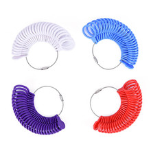 jewellers tool Ring Size Finger Gauge Ring Sizer Measuring Jewelry Tool Set top quality jewelry tools(China)