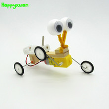 Happyxuan Diy Electric Model Reptile Assembling Robot Technology  Invention Scientific Experiment Material Toys