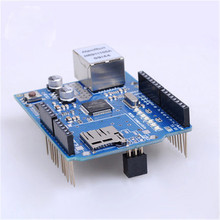 DIY Mt net chip TF solt W5100  DIY Science and technology make parts  module development board  W5100 Ethernet chip TF slot