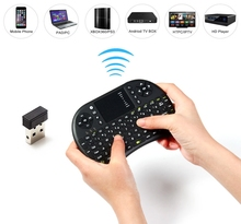 UKB-500-RF 2.4GHz Mini Wireless QWERTY Keyboard Touchpad Mouse Combo for PC Desktop Laptop