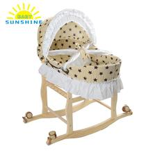 NEW Baby Bed Multifunctional Lengthen Portable Baby Cradle Bassinet Bed Newborn Baby Sleeping Travel Basket Crib Star for Baby(China)