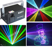 2000MW dmx rgb stage laser lighting 2016 new product mini rgbw laser dj disco party stage light(China)