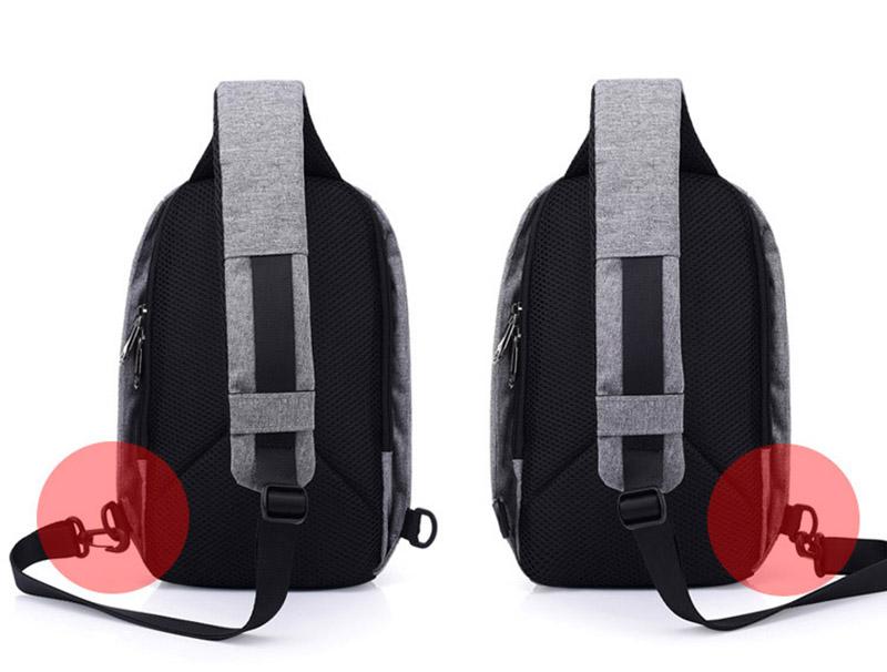 Men Anti Theft Backpack USB Rechargeable Crossbody Women Bags Boys Girls Single Shoulder Bag Backpacks Sac A Dos Homme BP0205 (12)