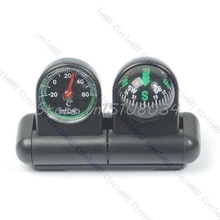 Boats Cars Vehicles Navigation Compass Ball Thermometer #S018Y# High Quality
