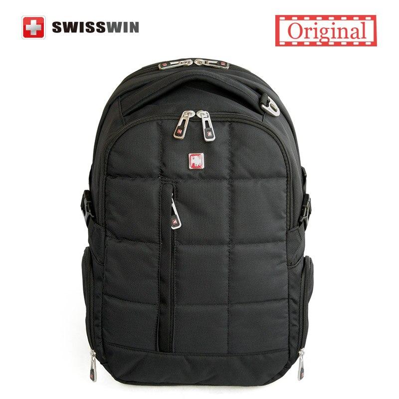 Swisswin Brand Backpack Men Swissgear School Backpack Boys Waterproof 16.5 Laptop Backpack Male Orthopedic Satchels<br><br>Aliexpress