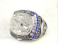 free shipping 2013 Seattle Seahawks size 11 replica super bowl rings championship ring for men(China)