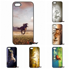 Wild Horse Running HD WallpaperCell Phone Case Cover Shell For iPhone 4 4S 5 5C SE 6 6S 7 Plus Galaxy J5 A5 A3 S5 S7 S6 Edge