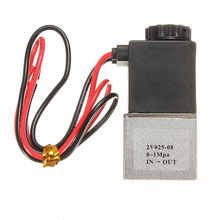 Best Price DC 12V 1/8 2 Way Normally Closed Electric Solenoid Air Valve Pneumatic Aluminum for Air,Gas,Liquid,Water(China)