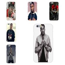 Soft TPU Silicon Covers For Apple iPhone 4 4S 5 5C SE 6 6S 7 7S Plus 4.7 5.5 cheapest meek mill dream chasers logo