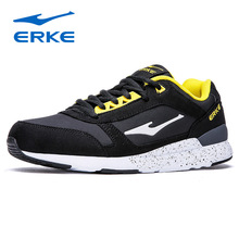 ERKE 2018 Brand New Men's Running Shoes Winter Men Shoes Wear Sports Outdoor Running Sneakers Men Athletic Breathable Shoes JH10(China)
