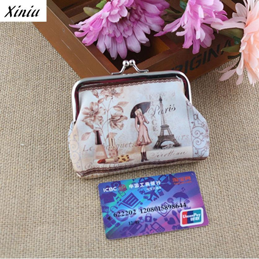 Xiniu Womens Wallet Floral Digital Printing Card Holder Hasp Coin Purse Day Clutch Coin Wallet Portafoglio Donna #1108<br><br>Aliexpress
