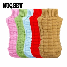 MUQGEW Pet Dog Clothes Winter Chihuahua Puppy Dog Coat Pet Winter Woolen Sweater Knitwear Clothing For Dog Roupas Para Cachorro