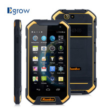 Original Runbo F1 MTK6735 Quad Core Android 6.0 Mobile Phone 5.5 Inch IP67 Waterproof Cell Phones 3G RAM 32G ROM 13MP Smartphone