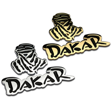 3D Metal Dakar Rally Badge Logo Car Sticker Motorcycle Emblem Car Styling & Decoration Personality car decorative body stickers