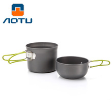 New Large Aluminum Pot Camping Stove Equipment Forlife Tea Pot Outdoor Camping Cookware Sets Single Nonstick Cookware Portable