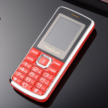 "1.77"" screen Dual Sim Dual Standby BIg 3D Sound Mobile phone TKEXUN C1 Phone French Russian Language Russian Keyboard"