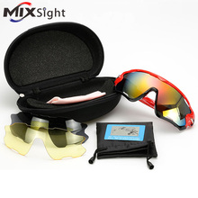 UV400 Cycling Eyewear MTB Bicycle Frame Polarized Sunglasses For Cycling Eyewear Cycling Glasses Bike Sunglasses Set Change Lens