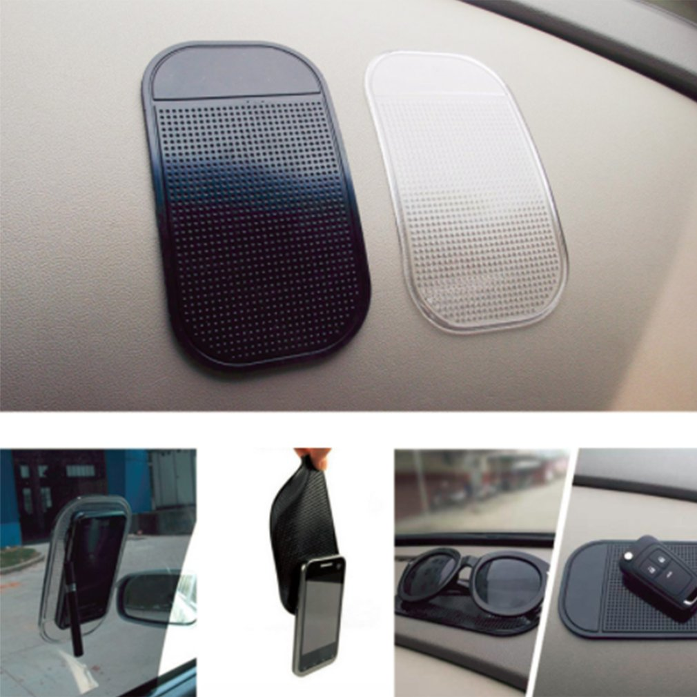 Sticky-Pad Dashboard Car-Accessories Mobile-Phone 1PC for Anti-Slip-Mat Silica-Gel Strong title=