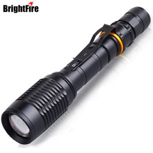 Professional 5 Modes 1000LM Tactical CREE XM-L T6 Flashlight Zoomable LED Flashlights Torch for hunting cycling(China)