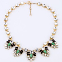 Fashion Brand Rhinestone Pendants Necklaces Wholesale Designer Women Necklaces & Pendants Jewelry Name Statement Necklace Women