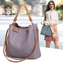 Jofeanay 2016 classic handbag leather handbag factory Wholesale Fashion Shoulder Bag Handbag bucket