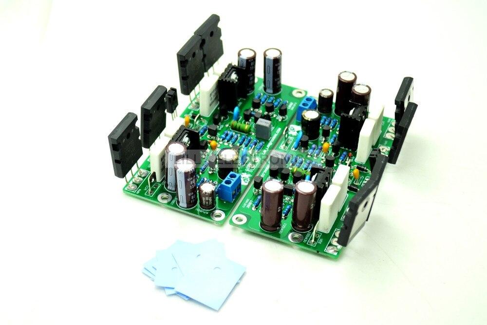 Finished Board LJM L20SE 350W+350W 4ohm 2SA1943 2SC5200 Final<br>