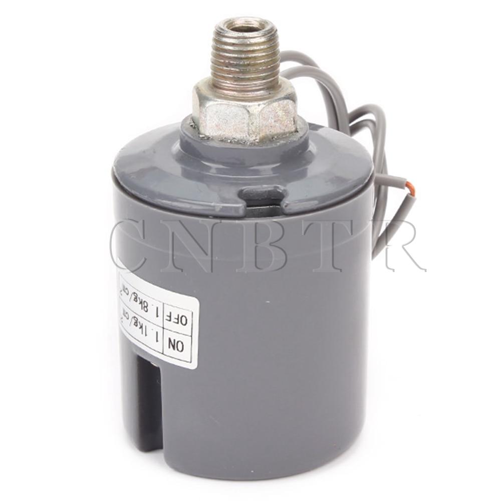 CNBTR 220V Grey 1/4 1.1-1.8 kgf/cm2 Male Threaded Pressure Switch Controller<br><br>Aliexpress