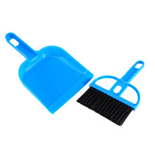 New Arrival Mini Plastic Hand Kitchen Dustpan And Brush Set Soft Cleaning Sweeper Dust Pan(China)