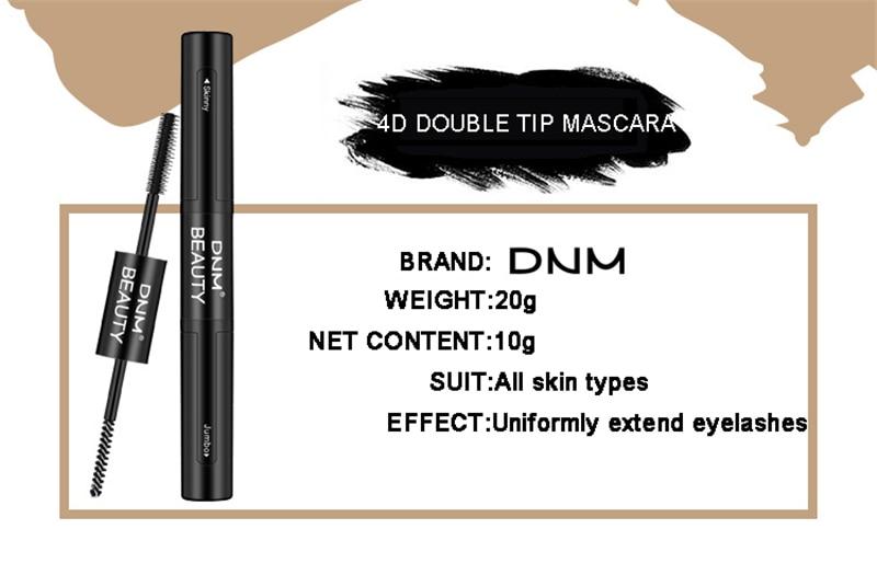 Professional Black Mascara Eyelashes Thick Lengthening Makeup - Svogo