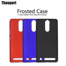 For Lenovo K5 Note Cases PC Cover Ring Holder Frosted Rubber Paint Fashion Good Touch Feel Hot Case For Lenovo Vibe K5 Note Pro