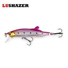 LUSHAZER Fishing bait minnow lure 26g 85mm carp fishing isca artificial penceil baits popper fishing lures China free shipping(China)