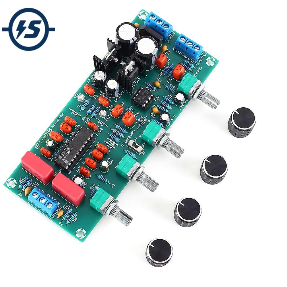 12V-24V Low-Pass Filter NE5532 Bass Tone Subwoofer Pre-Amplifier Preamp Board RH