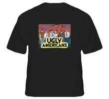 Gildan Ugly Americans Cartoon T Shirt