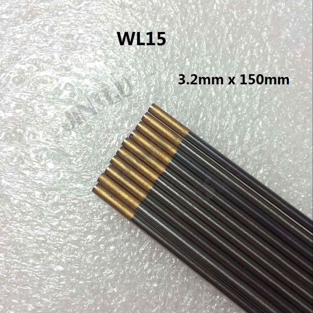 "Grey WC20 Ceriated Tungsten Electrode 3.2mm X 150mm 1//8/"" X 6/""  TIG Electrode  10"