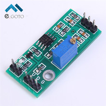 LM393 Voltage Comparator Module Signal Waveform Adjustable High Low Level/Load Drive Dual Channel Output 4.5-28V(China)