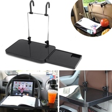 Multifunctional Tray Laptop Tablet Stand Food/Drink Holder For Car With Drawer Portable New Laptop Stand Car Cup Desktop Holder